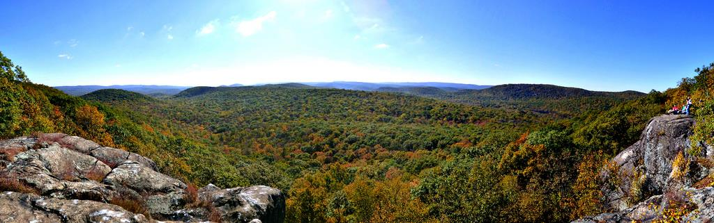 Autumn in Harriman State Park, NY